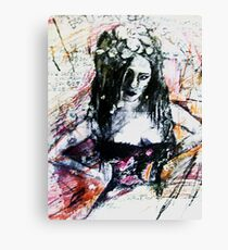The Mechanical Noises Of Hysteria.. Canvas Print