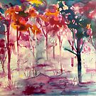 «arboles romanticos» de Marianna Tankelevich
