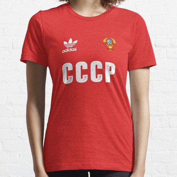 Equipo de fútbol clásico soviético Camiseta esencial