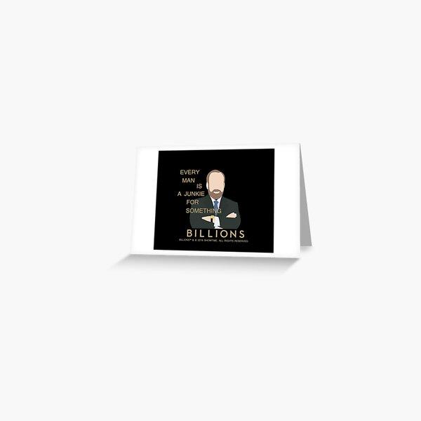 BILLIONS - Chuck Rhoades Greeting Card