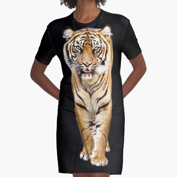 Tiger Graphic T-Shirt Dress
