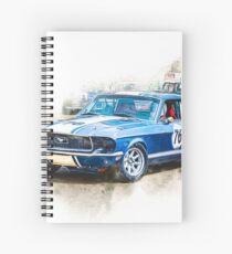 1968 Mustang Spiral Notebook