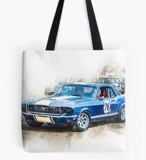 1968 Mustang Tote Bag