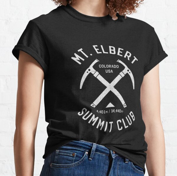 Mount Elbert Summit Club | I climbed Mt Elbert Classic T-Shirt