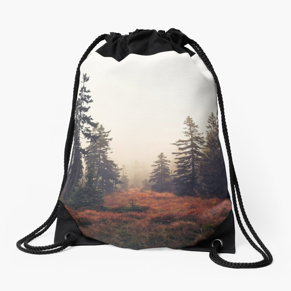 You Are Here Drawstring Bag