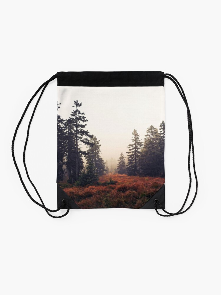 Alternate view of You Are Here Drawstring Bag