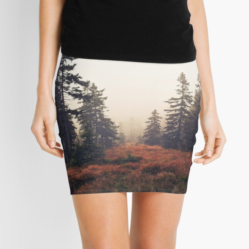 You Are Here Mini Skirt