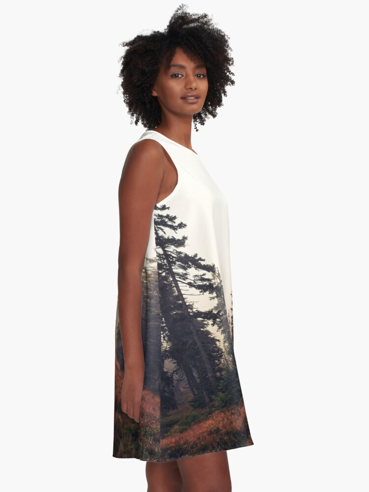 Alternate view of You Are Here A-Line Dress