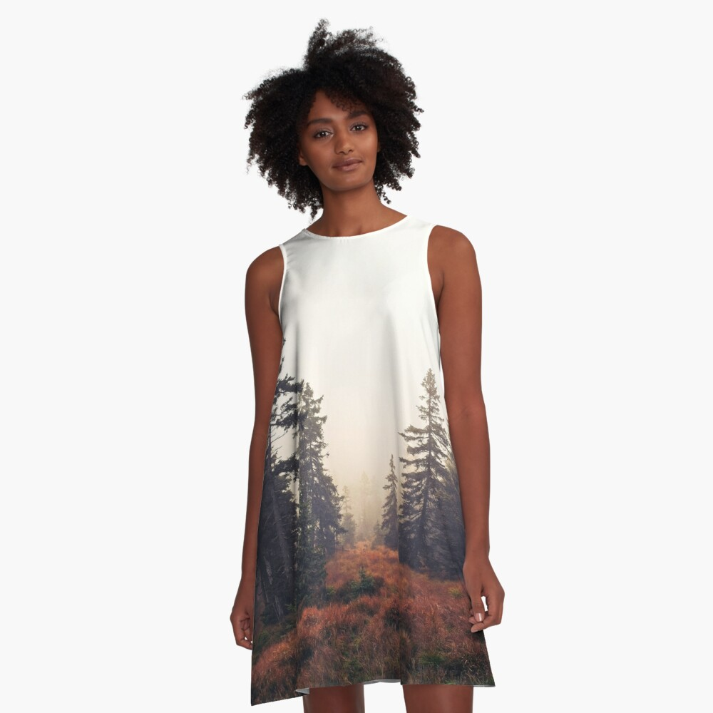 You Are Here A-Line Dress