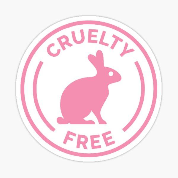 cruelty-free stickers & merch  Sticker