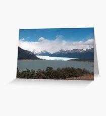 Moreno Glacier, Argentina Greeting Card