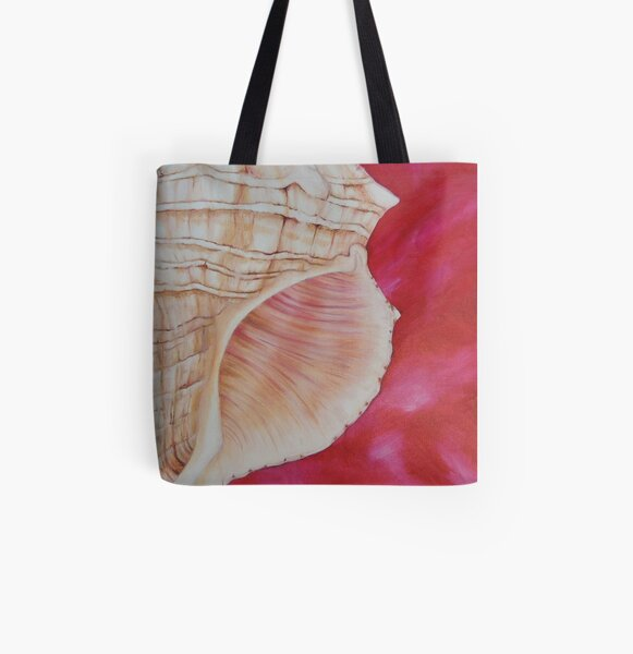 Fox Tail Shell All Over Print Tote Bag