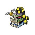 «Bufanda negra y amarilla» de Hilaarya