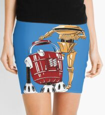 The Bots You're Looking For Mini Skirt