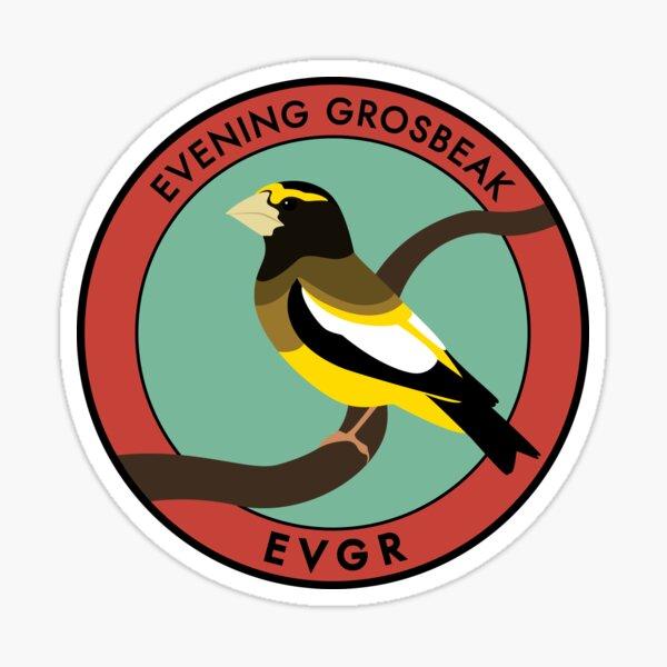 Evening Grosbeak Sticker