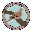 Mourning Dove by JadaFitch