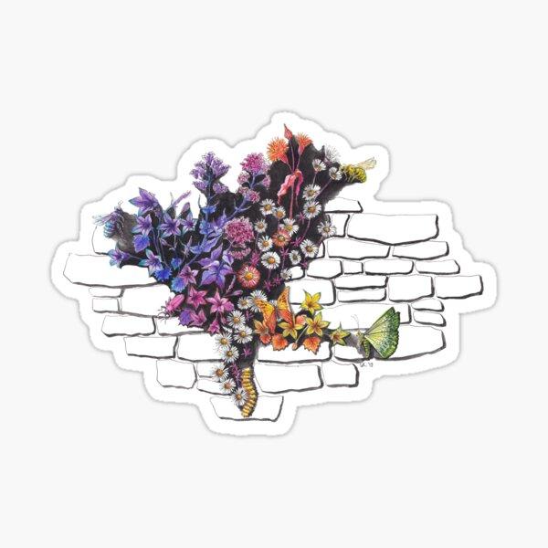 Urban Wild Flowers Sticker