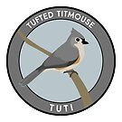Tufted Titmouse by JadaFitch