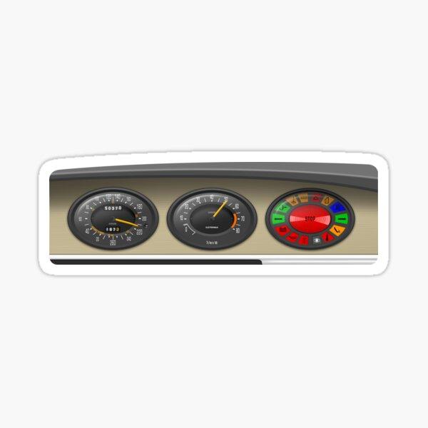 Citroën SM Dashboard Sticker