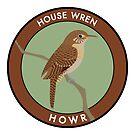 House Wren by JadaFitch