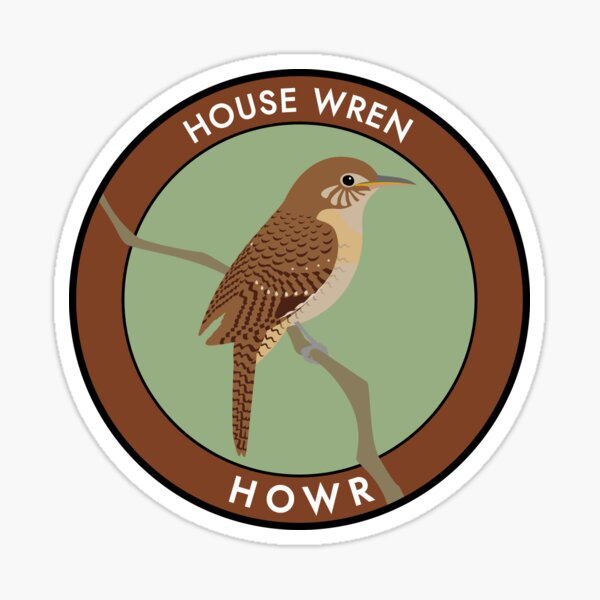 House Wren Sticker