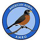 American Robin by JadaFitch