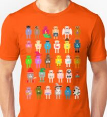 Robots in Disguises Red Slim Fit T-Shirt