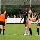 Rugby Sevens Action by Richie Wessen