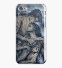 Holding your Heart By Sherry Arthur iPhone Case/Skin