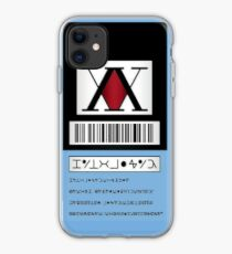 HXH - HunterxHunter Lizenz iPhone-Hülle & Cover
