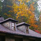 Bathhouse at Treman Falls State park by AlGrover