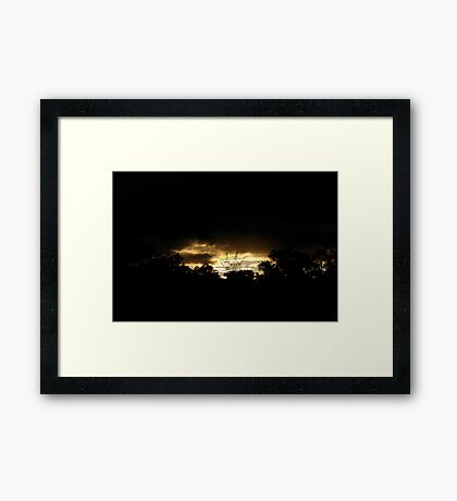 Natures Window Framed Print
