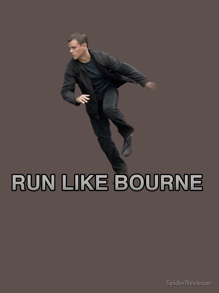 Run Like Jason Bourne  by SpiderReviewer