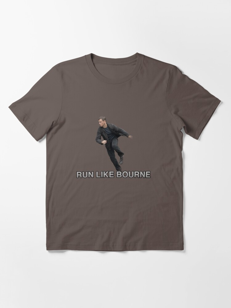 Alternate view of Run Like Jason Bourne  Essential T-Shirt
