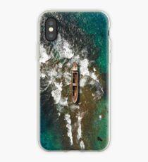 Shipwreck of MV Demetrios II iPhone Case