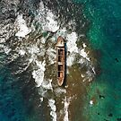 Shipwreck of MV Demetrios II by DRONY