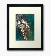 Shipwreck of MV Demetrios II Framed Print