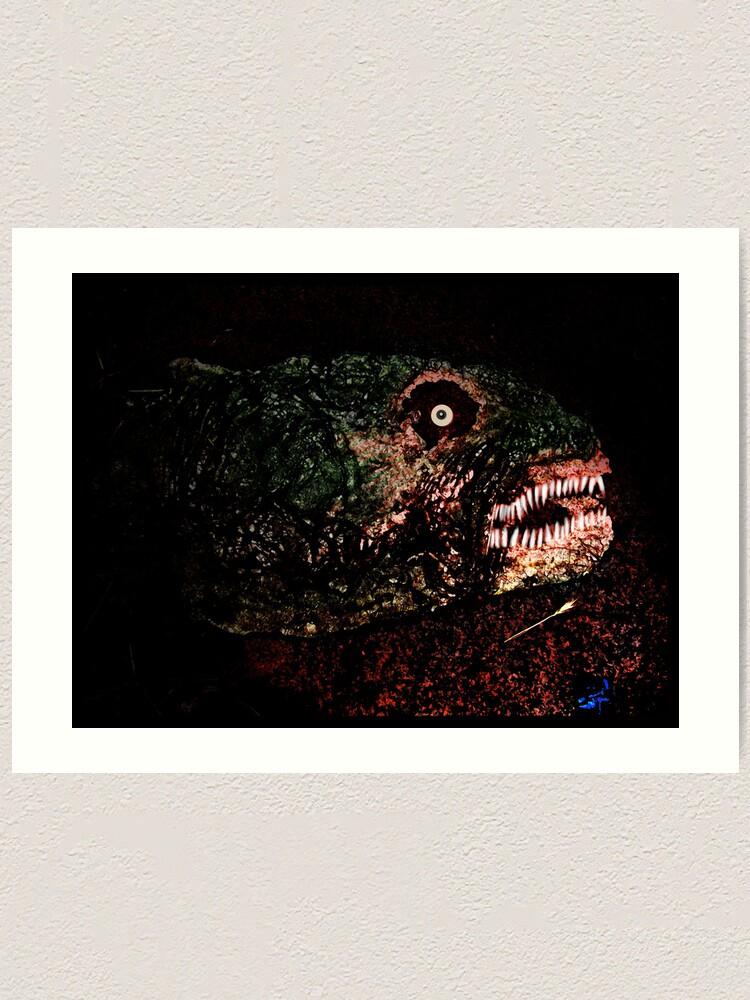 Alternate view of Dino Art Print