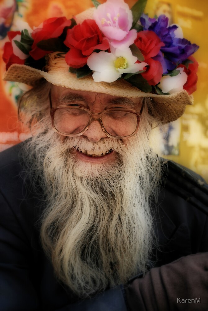 Happy Hat Man by KarenM