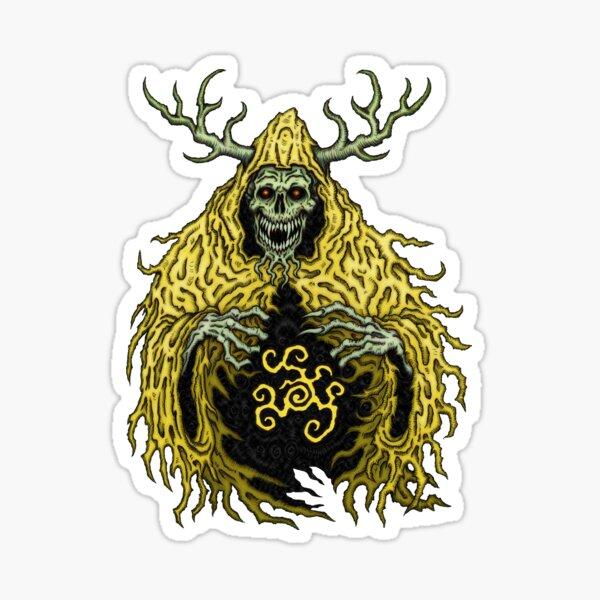 King in Yellow 2 - Azhmodai 2019 Sticker