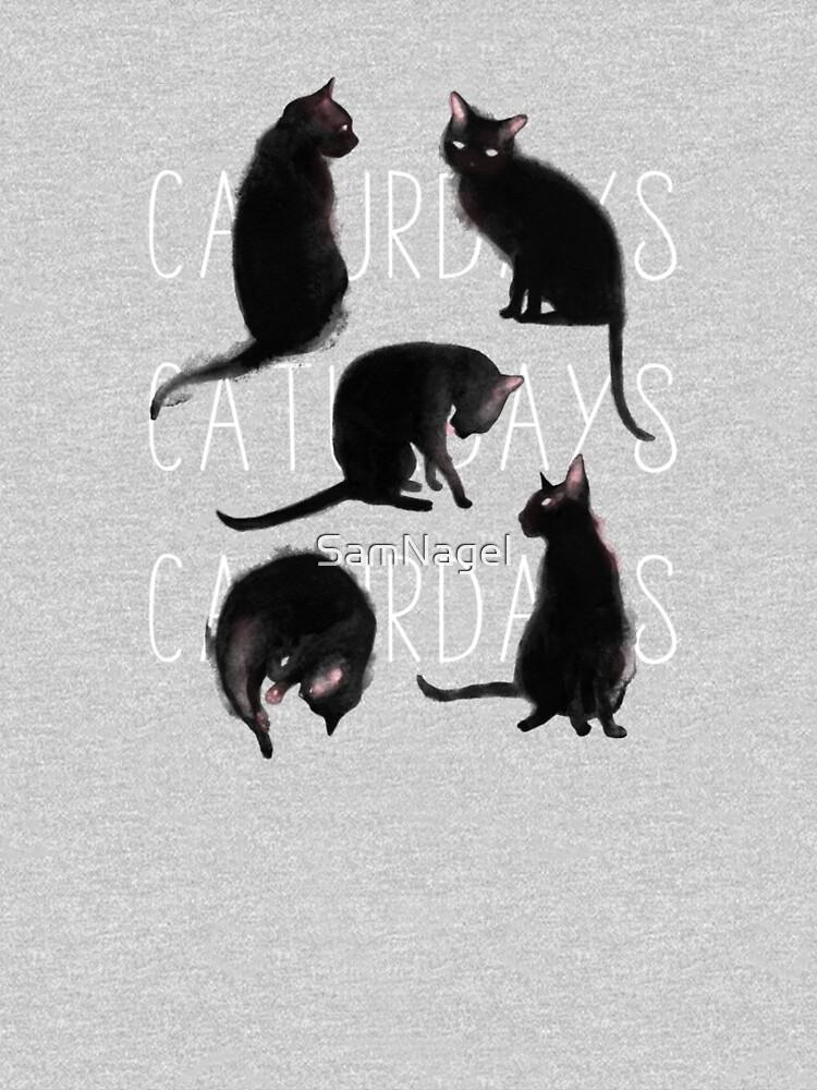 Caturdays - Black Cat by SamNagel