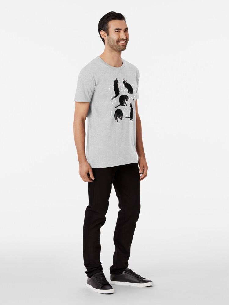 Alternate view of Caturdays - Black Cat Premium T-Shirt