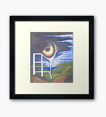 Eyefence Framed Print