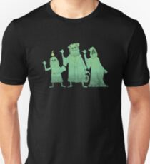 Hitch-hiking Christmas Ghosts Slim Fit T-Shirt