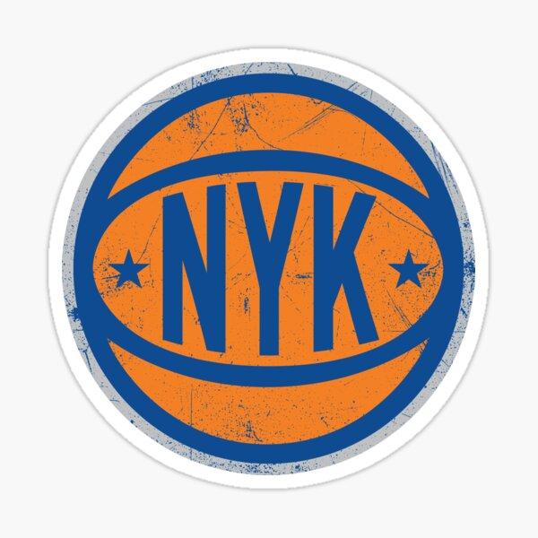 NYK Retro Ball - White Sticker