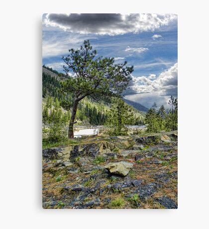 Kootenai River Drainage Canvas Print