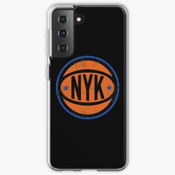 NYK Retro Ball - Black Samsung Galaxy Soft Case