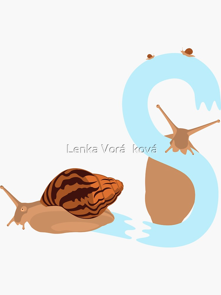 Pet snail with letter S by Trin4ever