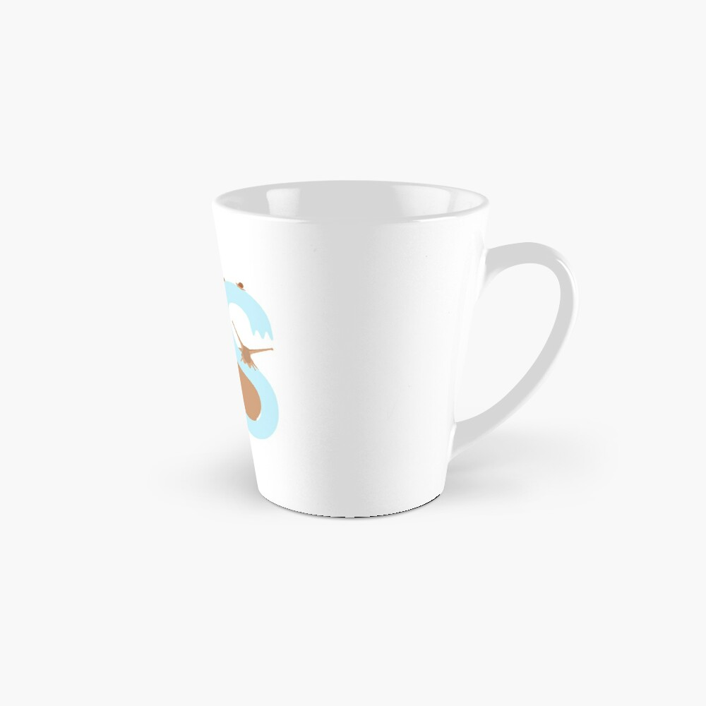 Pet snail with heart and letter S Mug