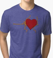 Three Sizes in One Day Tri-blend T-Shirt